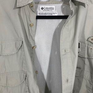 Columbia Shirts - Men's Columbia Performance Fishing Gear Shirt